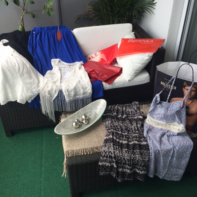 Sommer-Sale im Donauzentrum Haul