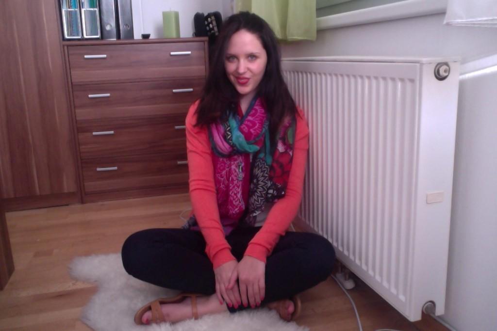 In meiner kleinen Wohnung in Wien fühl ich mich richtig wohl!