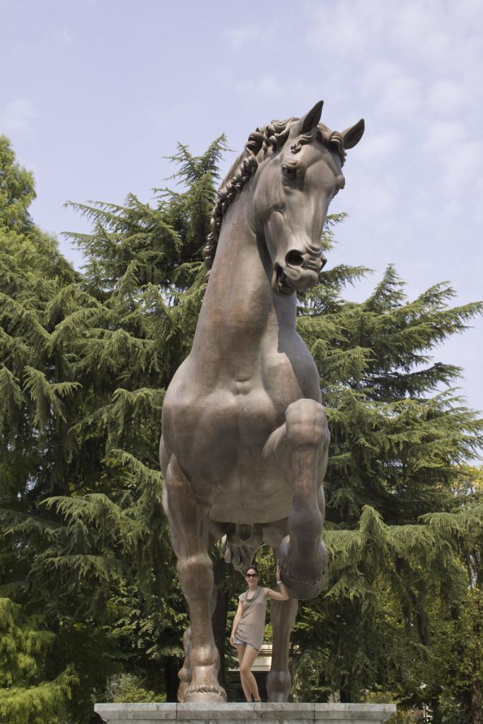 Reiterstandbild Mailand