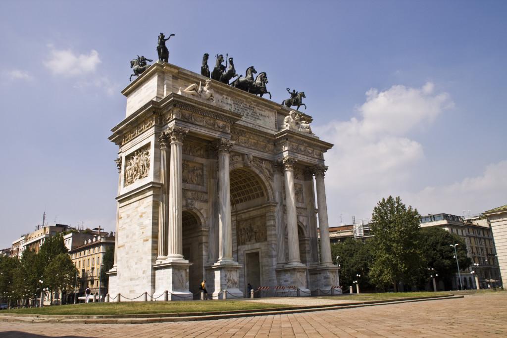 """""""Arco della Pace"""" (Piazza Sempione)"""