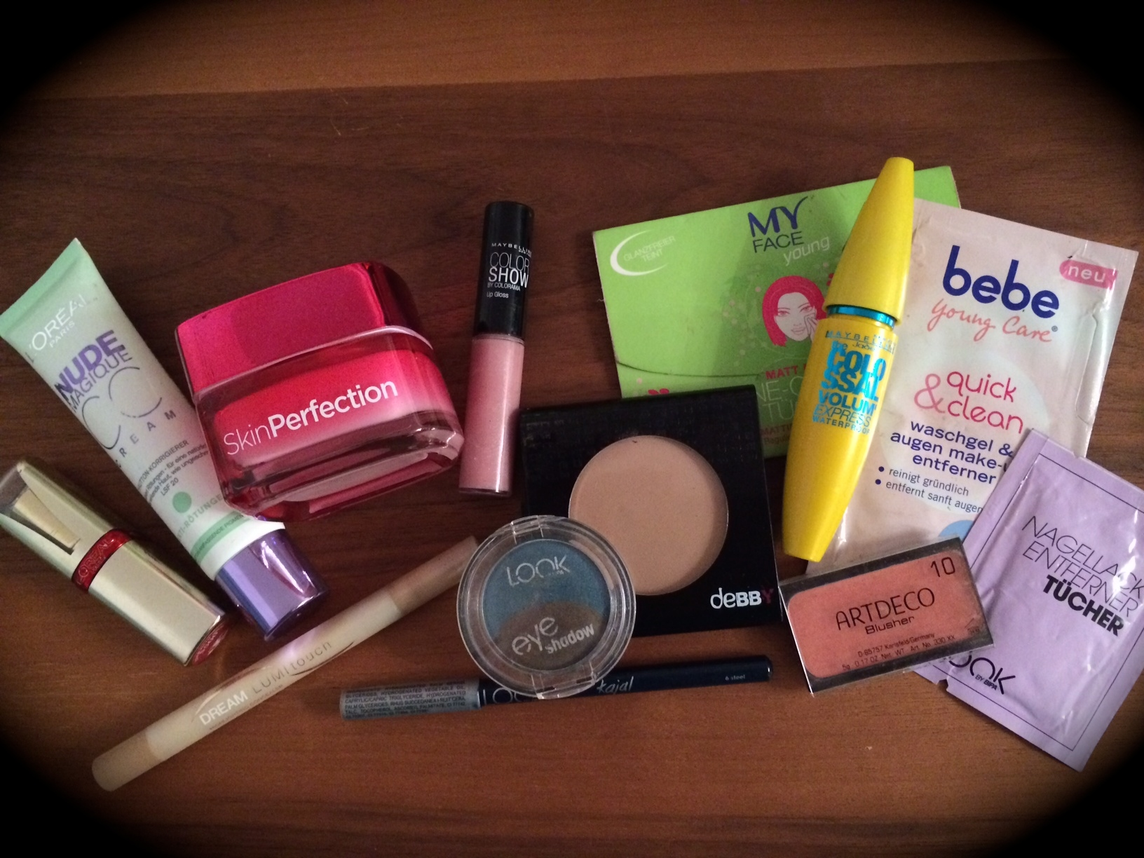 Beautyprodukte im Paraben-Scan