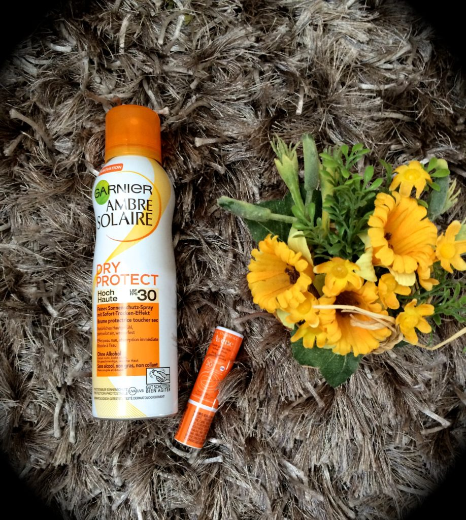 Ambre Solaire und Avene Must-haves August