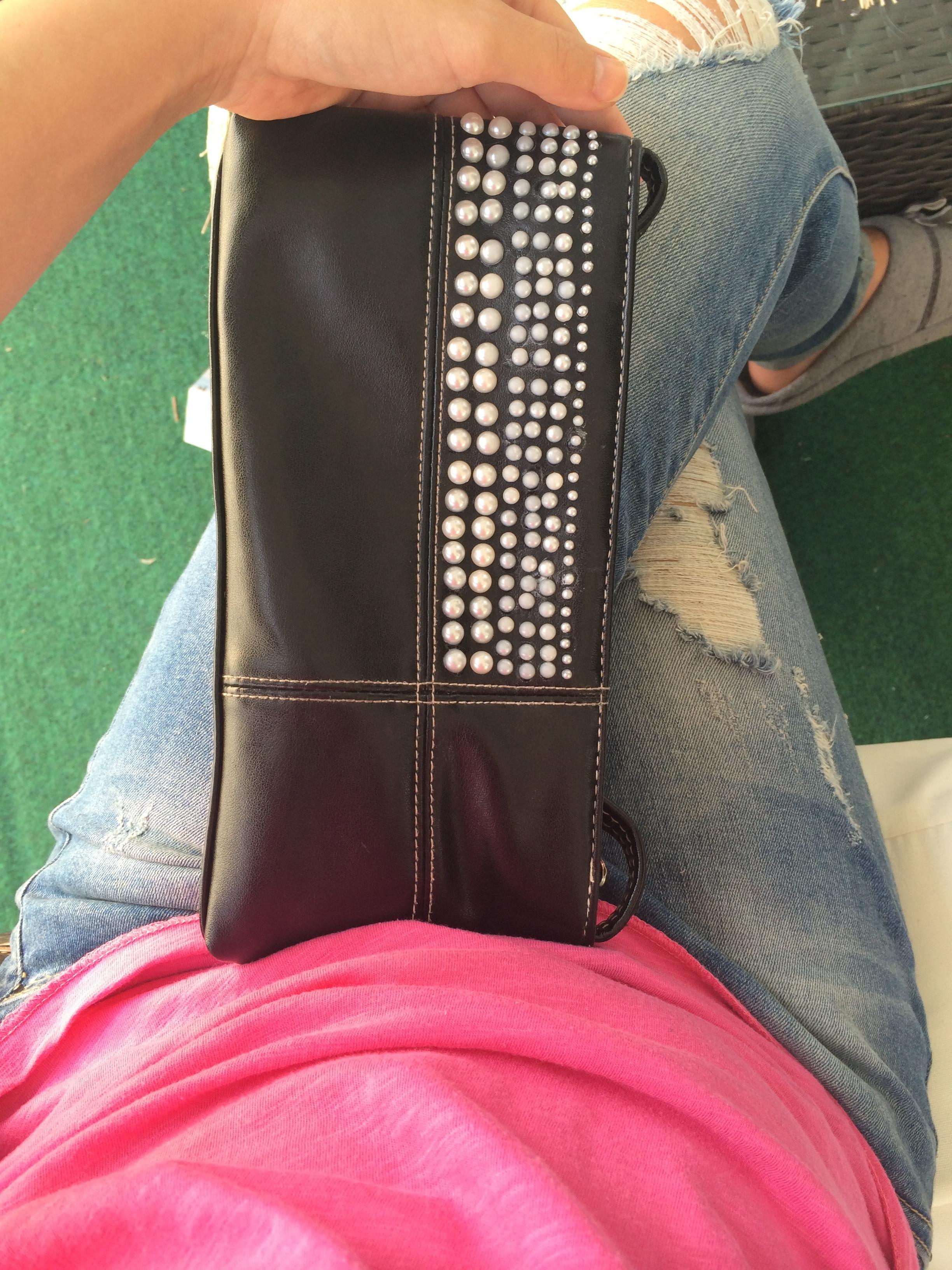 Handtaschen DIY mit Perlen