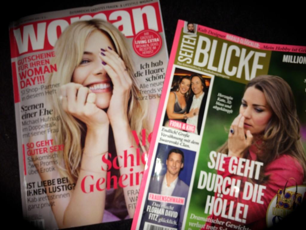Woman und Seitenblicke Magazin