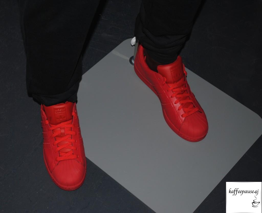 Supercolor Superstar red