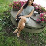 Summer Outfit: Grey dress