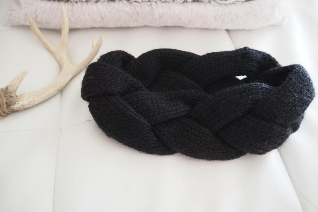 Trends November Stirnband schwarz