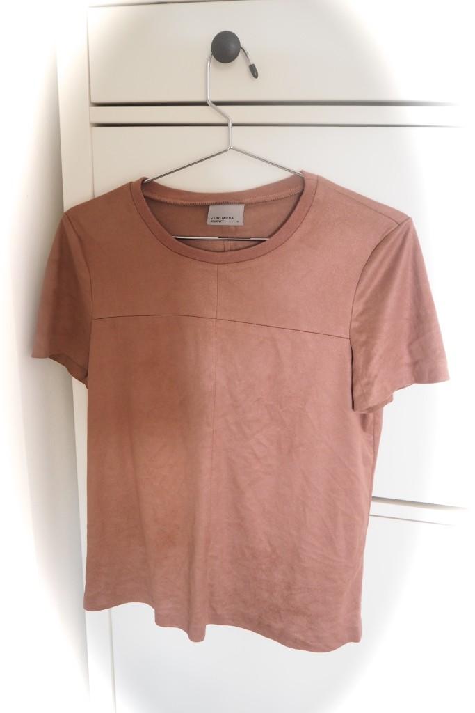 Wildleder T-Shirt Februra Trends