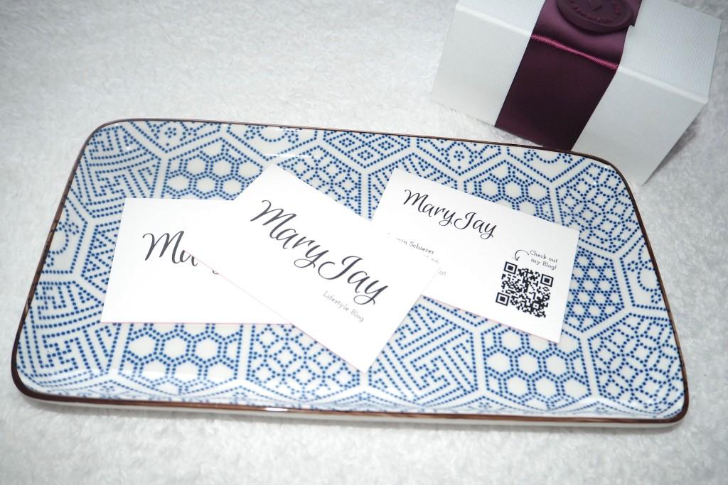 Luxe-Visitenkarten pink by moo.com 3