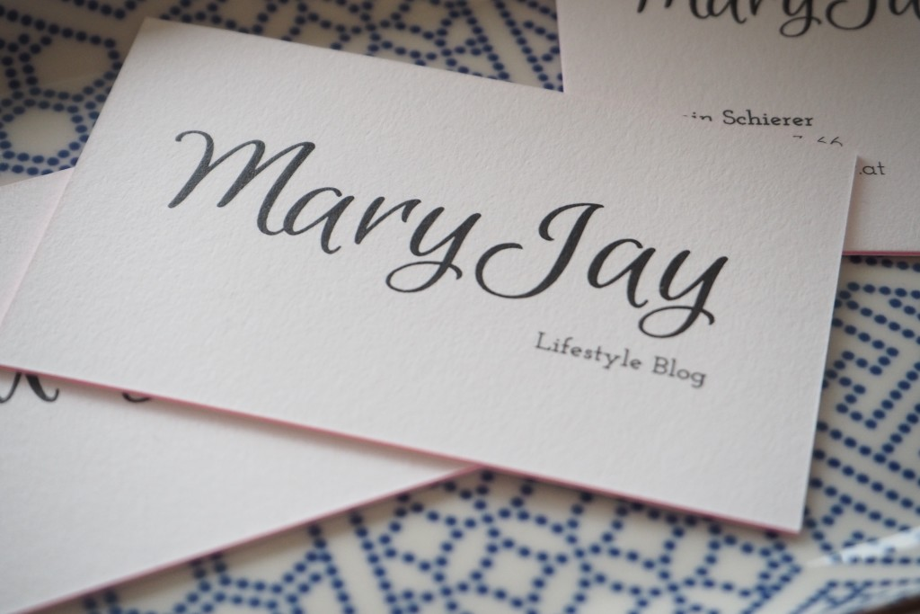 New In Blog Visitenkarten By Moo Mary Jay