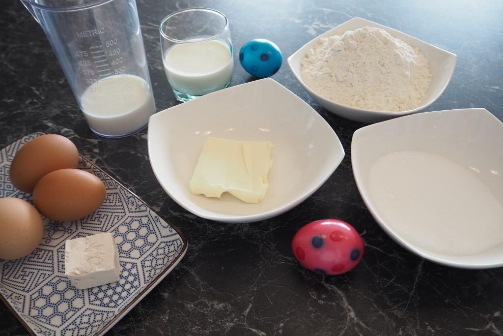 Osterpinzen Rezept Zutaten