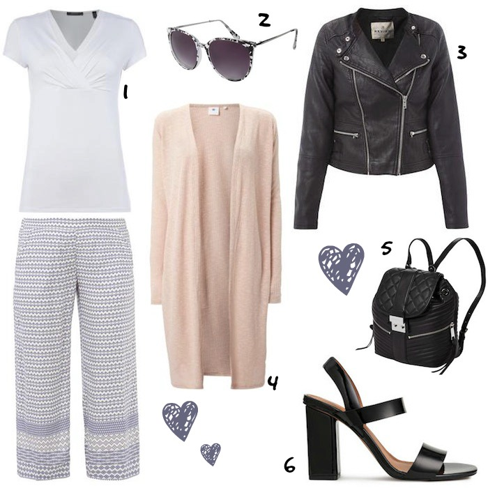 Culottes Outfitideen Outfit 3
