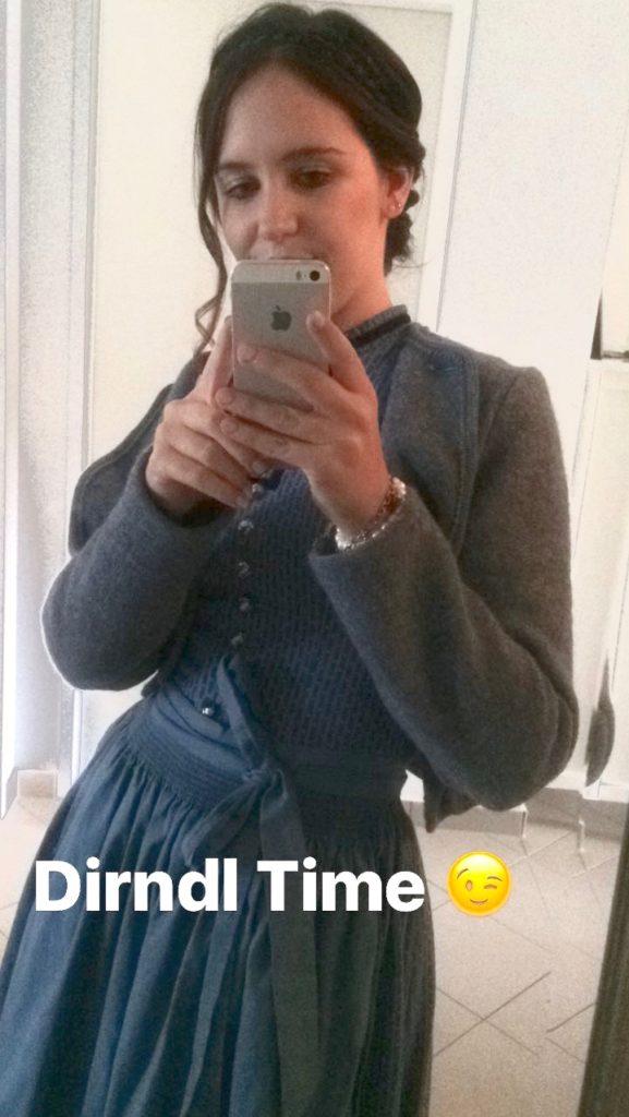 Dirndl Time Snapchat