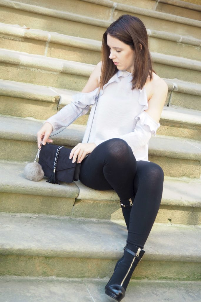 #1country-7looks Outfit mit Volants