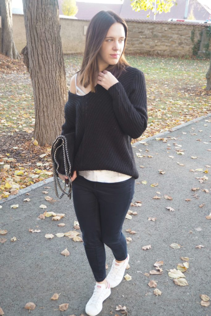 Metallic Details Outfit
