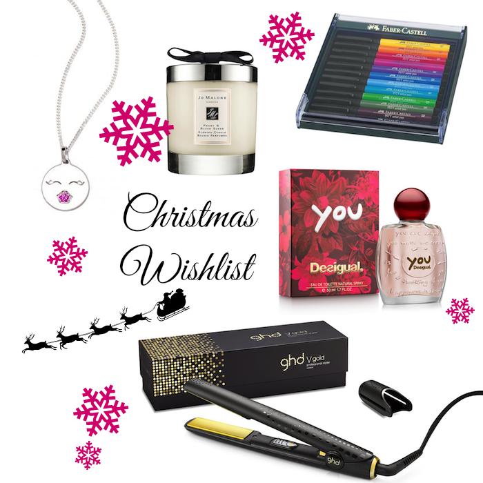 Christmas Wishlist Weihnachtsgeschenke