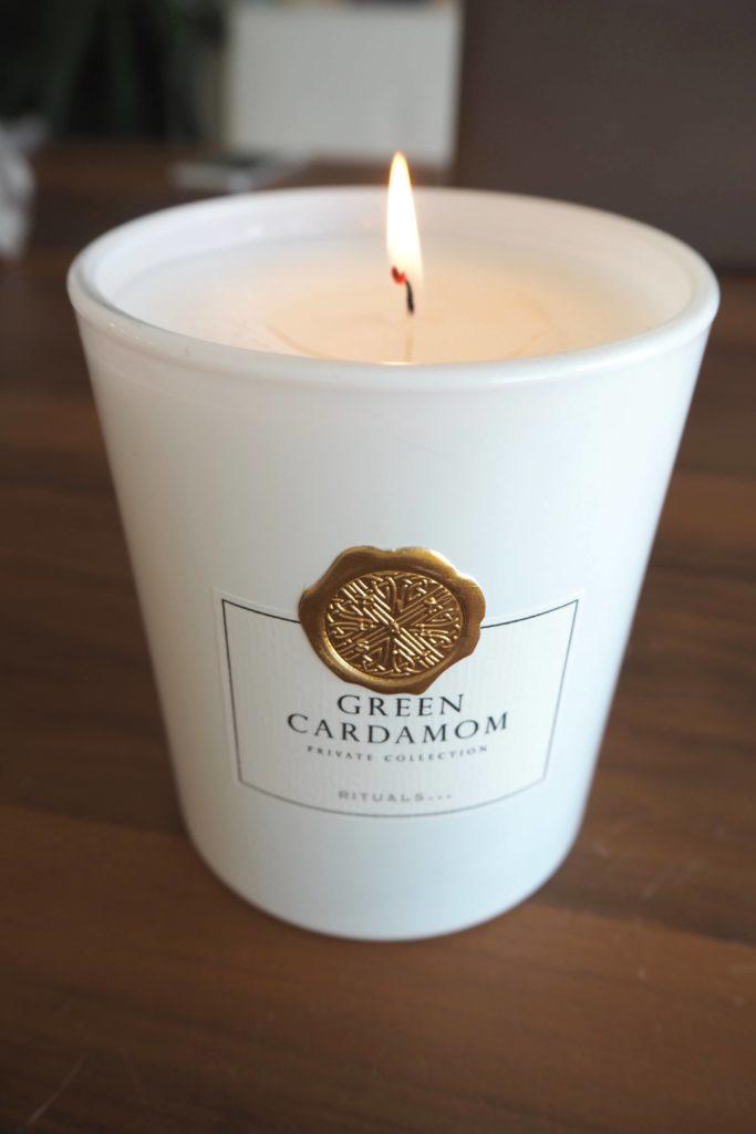 Candle Rituals Green Cardamom