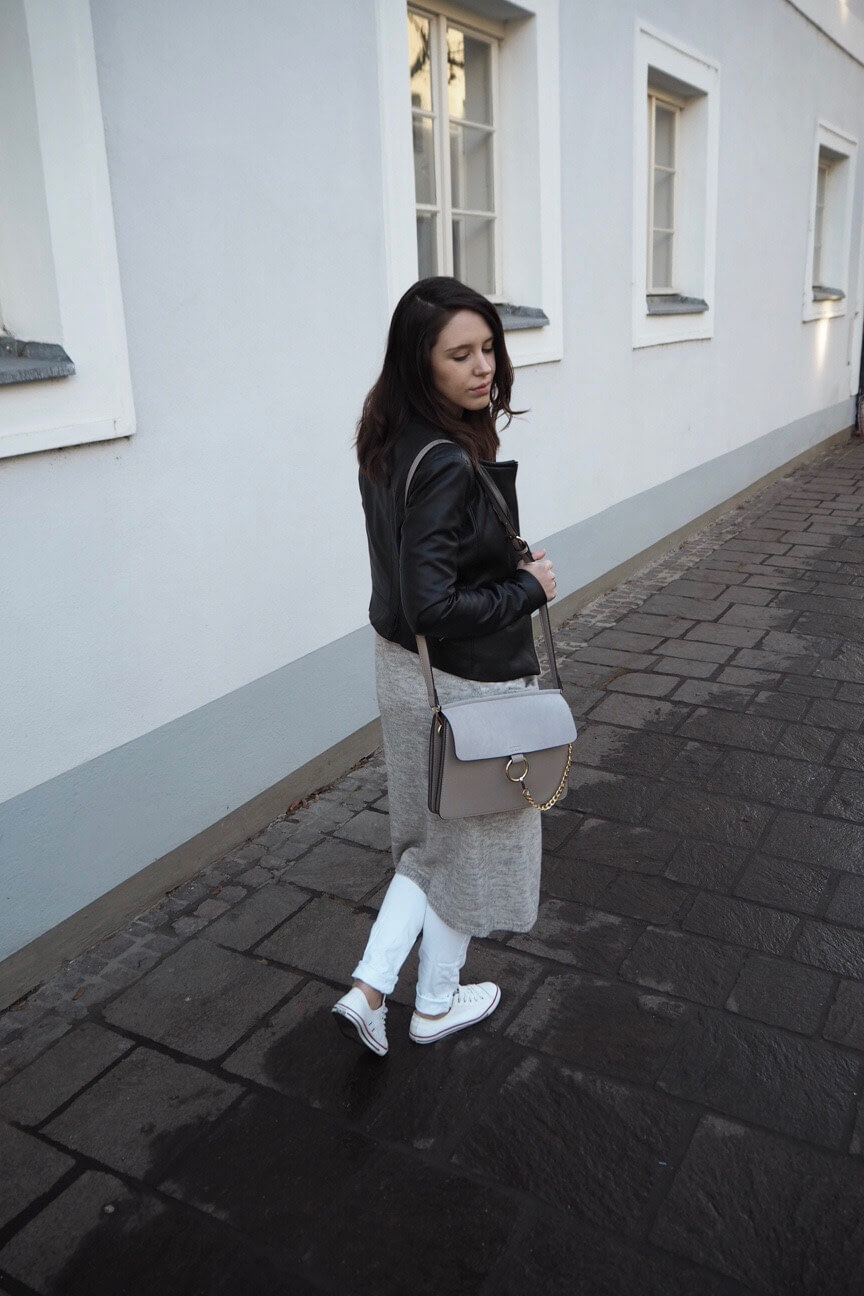 Streetstyle Leather jacket Mary Jay