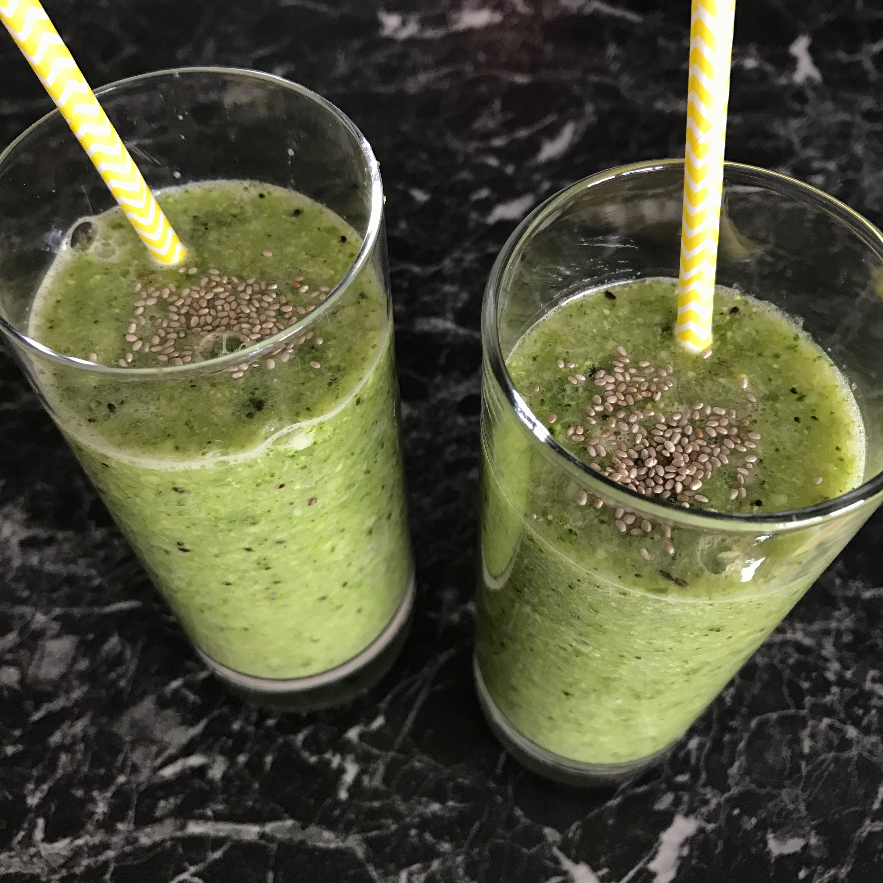 "Green Smoothie ""Queen of Green"""