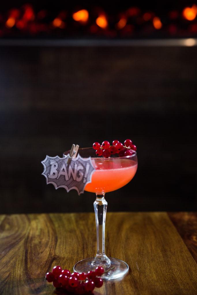 IQ Bar Kiss Kiss Bang Bang Cocktail