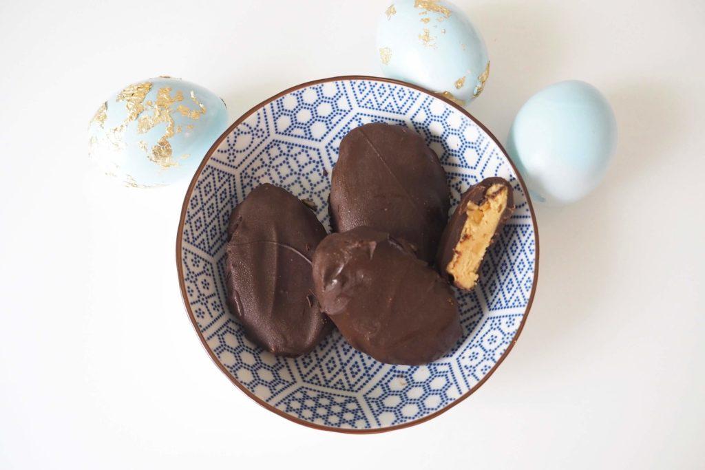 Rezept Erdnusbutter-Schoko Eier