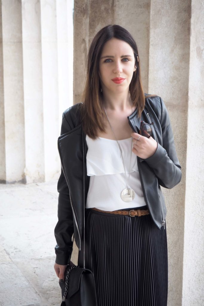 Leatherjacket Outfit