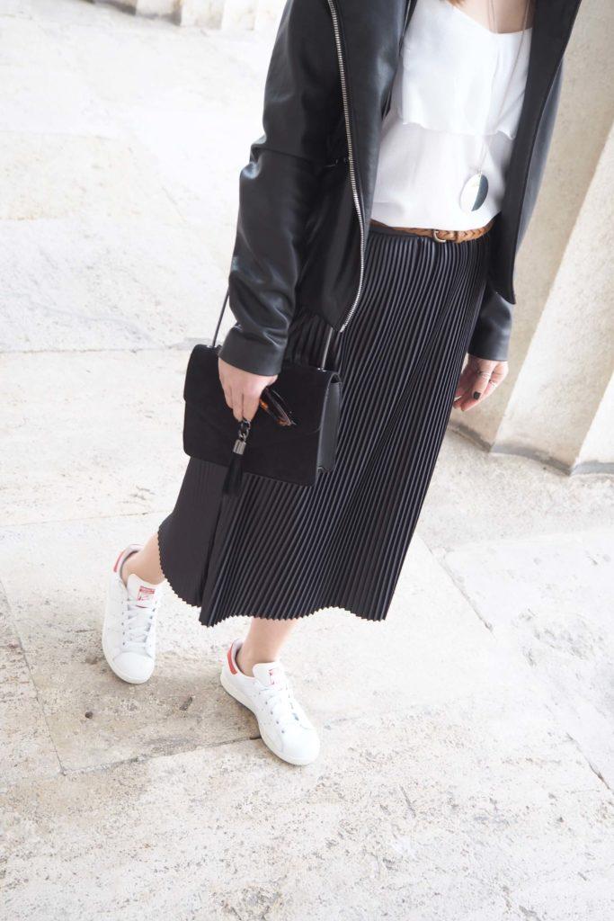Plissee Skirt Midi