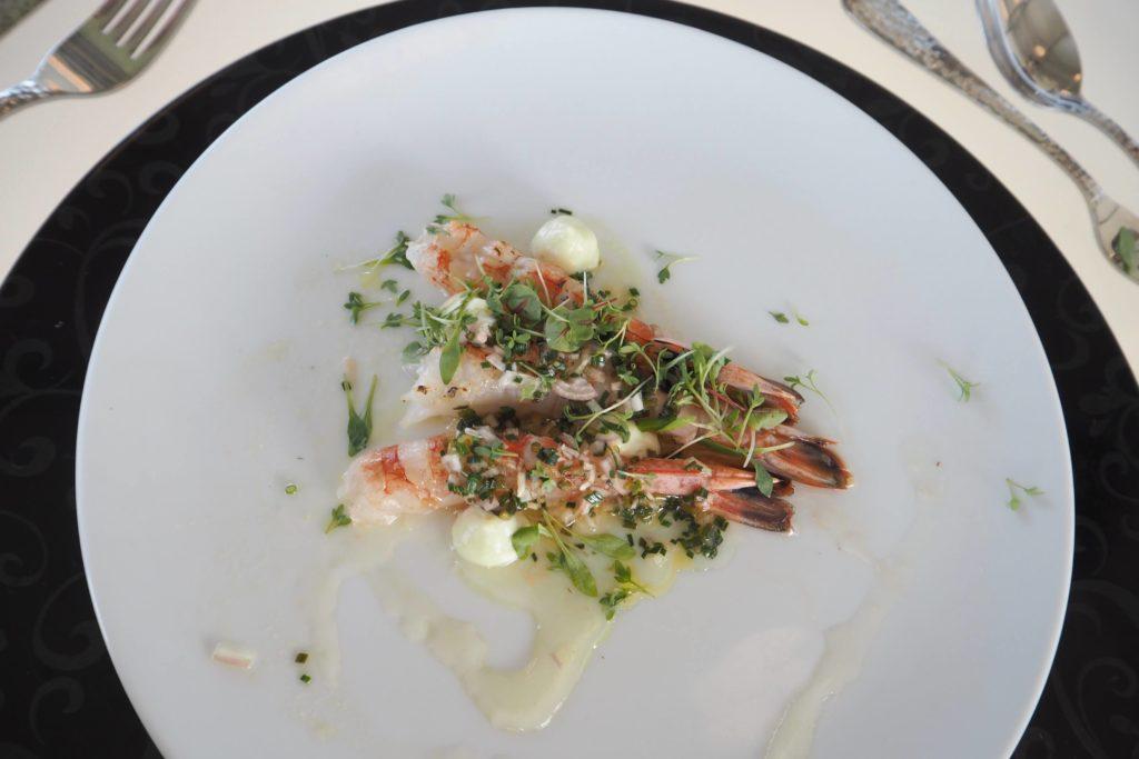 Dinner in the Sky® Menü Roland Huber