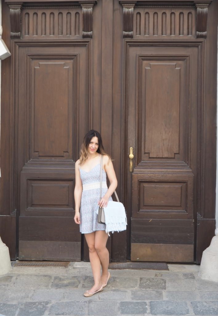 Printed Summer Dress Hollister
