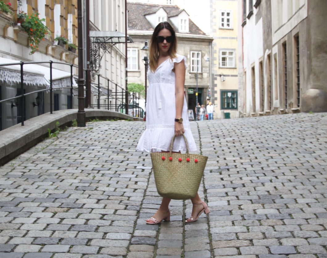 Straw Bag Outfit