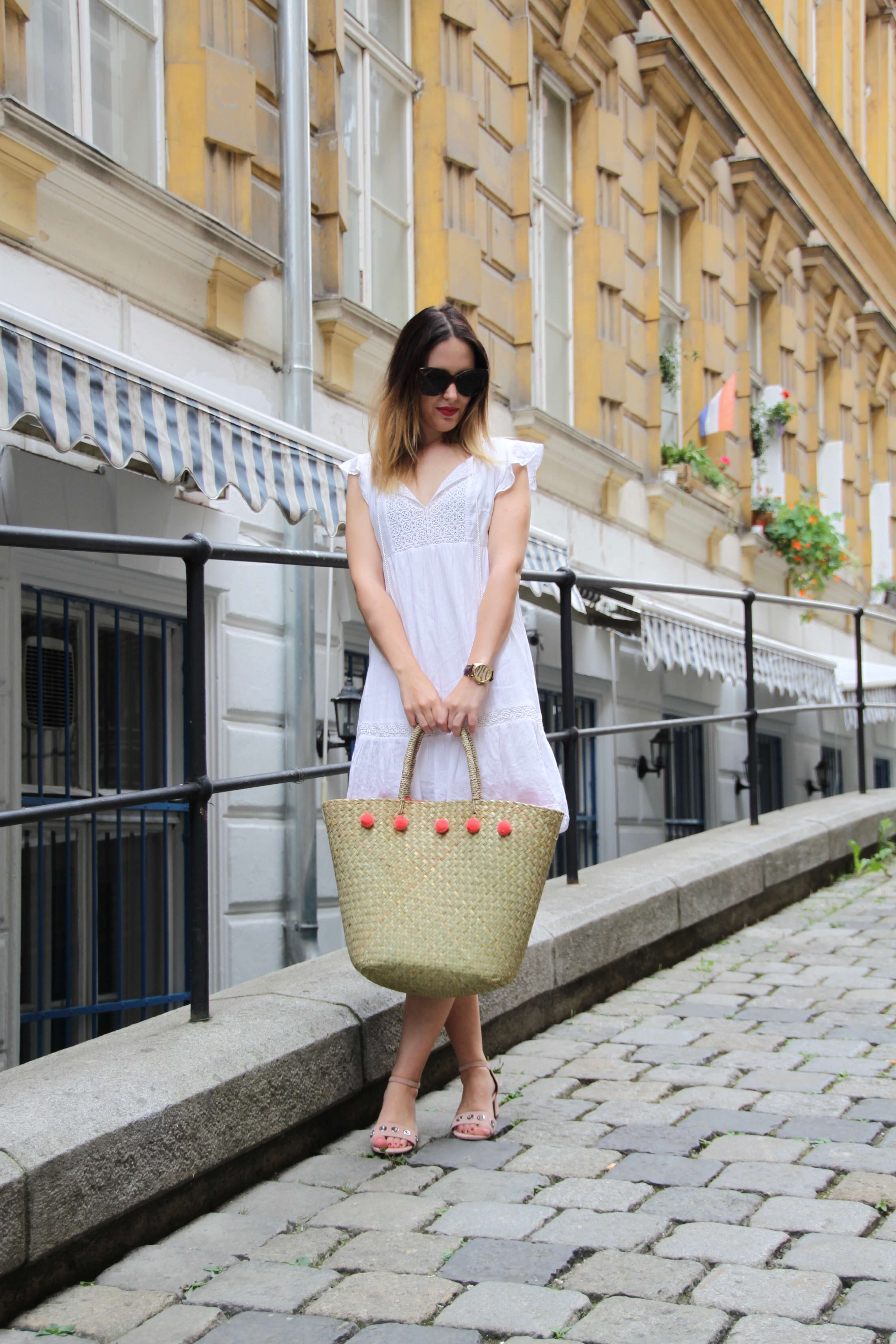 OTDS - Straw Bags Summeroutfit with straw bag