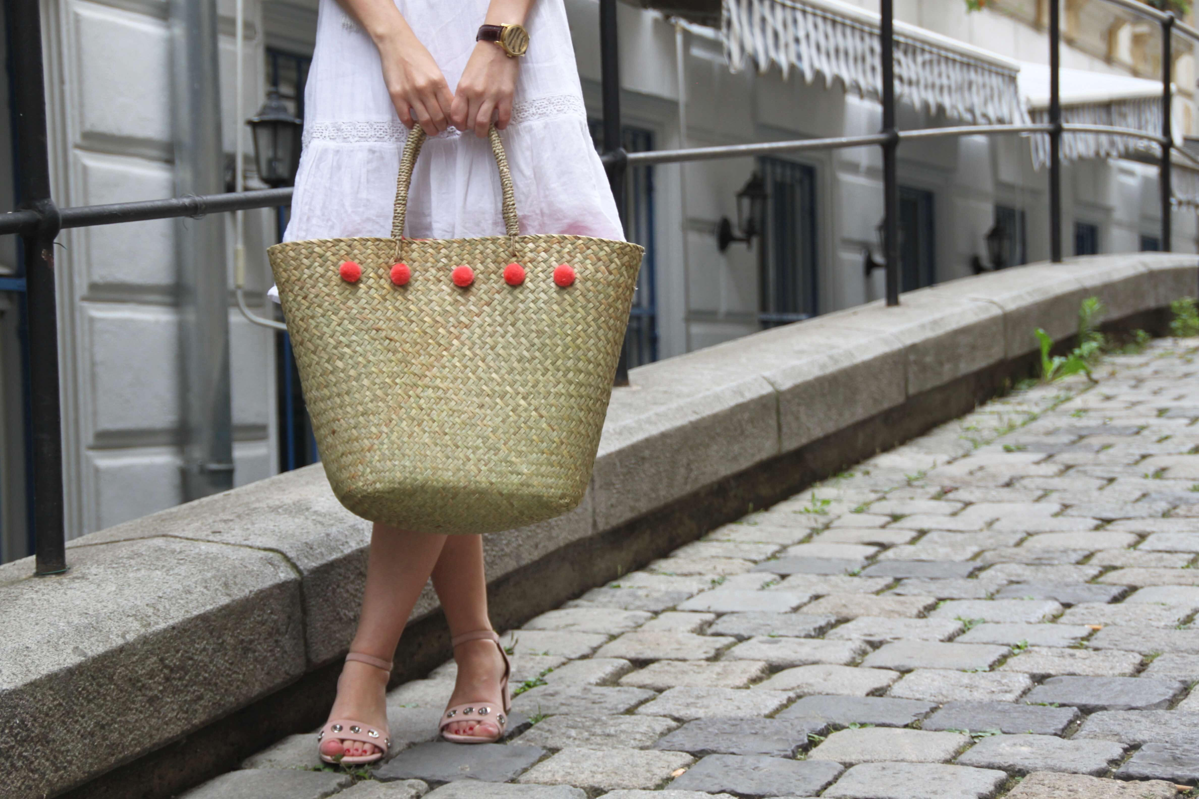 Straw Bag Strohtasche Aldi Hofer