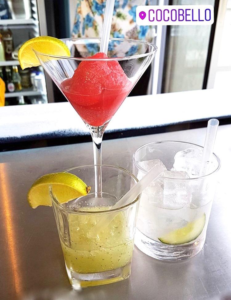 Cocobello CopaBeach Cocktails