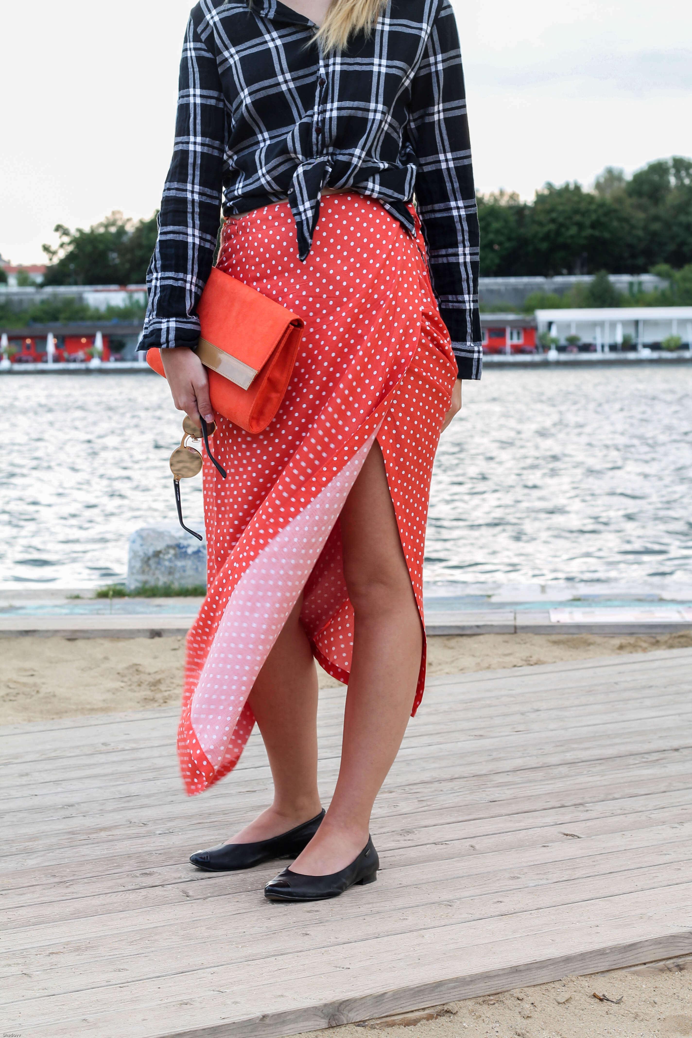 Wickelrock wrap skirt