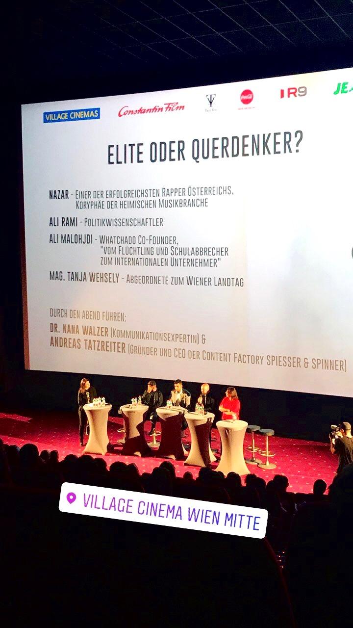 Jugend ohne Gott Filmpremiere Wien