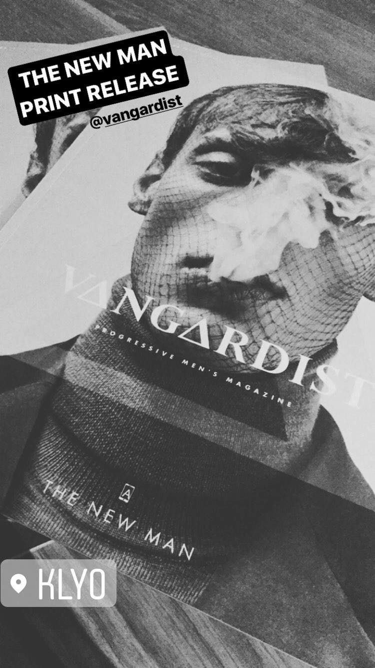 Vangardist Print Release New Man