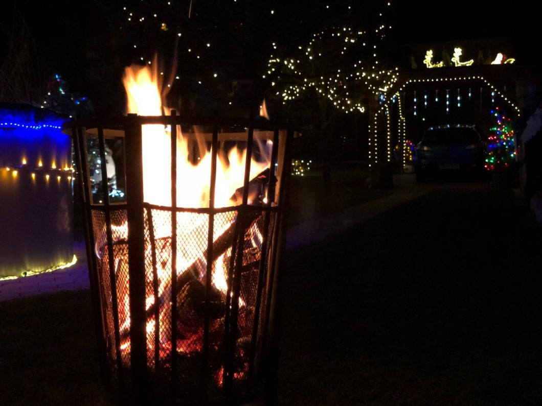 Winter Winderland Fire