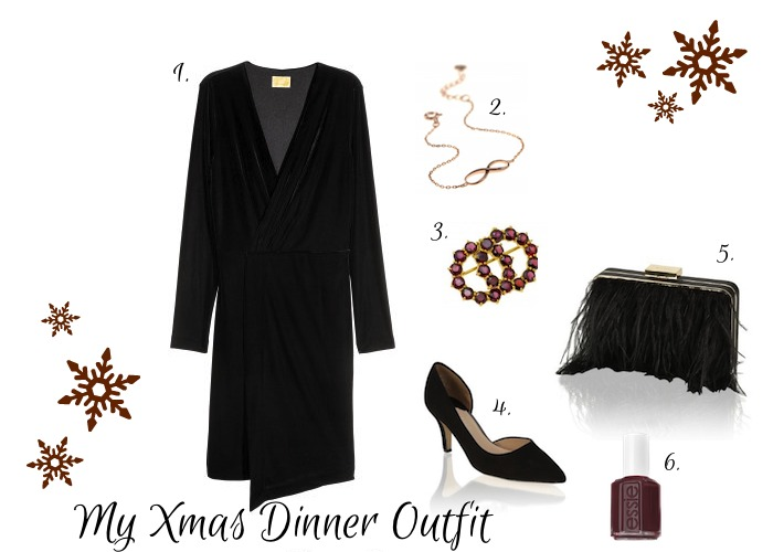 xmas dinner my outfit