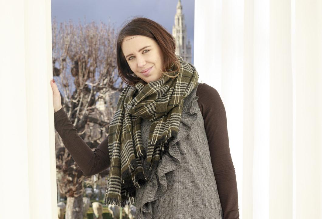 Tartan Oversize Schal