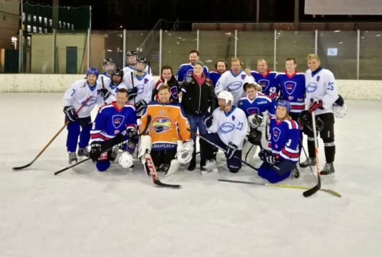 Promi Eishockeymatch Make-A-Wish WEV
