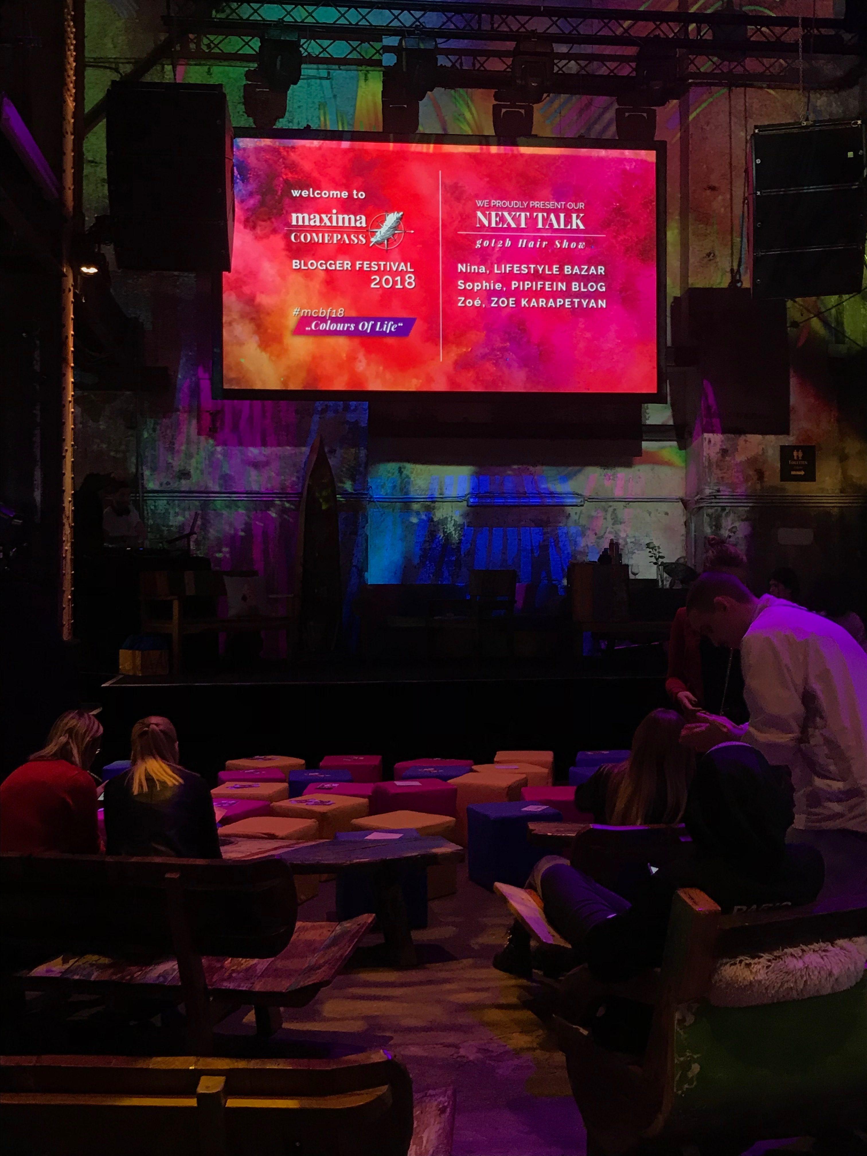 maxima COMEPASS Blogger Festival