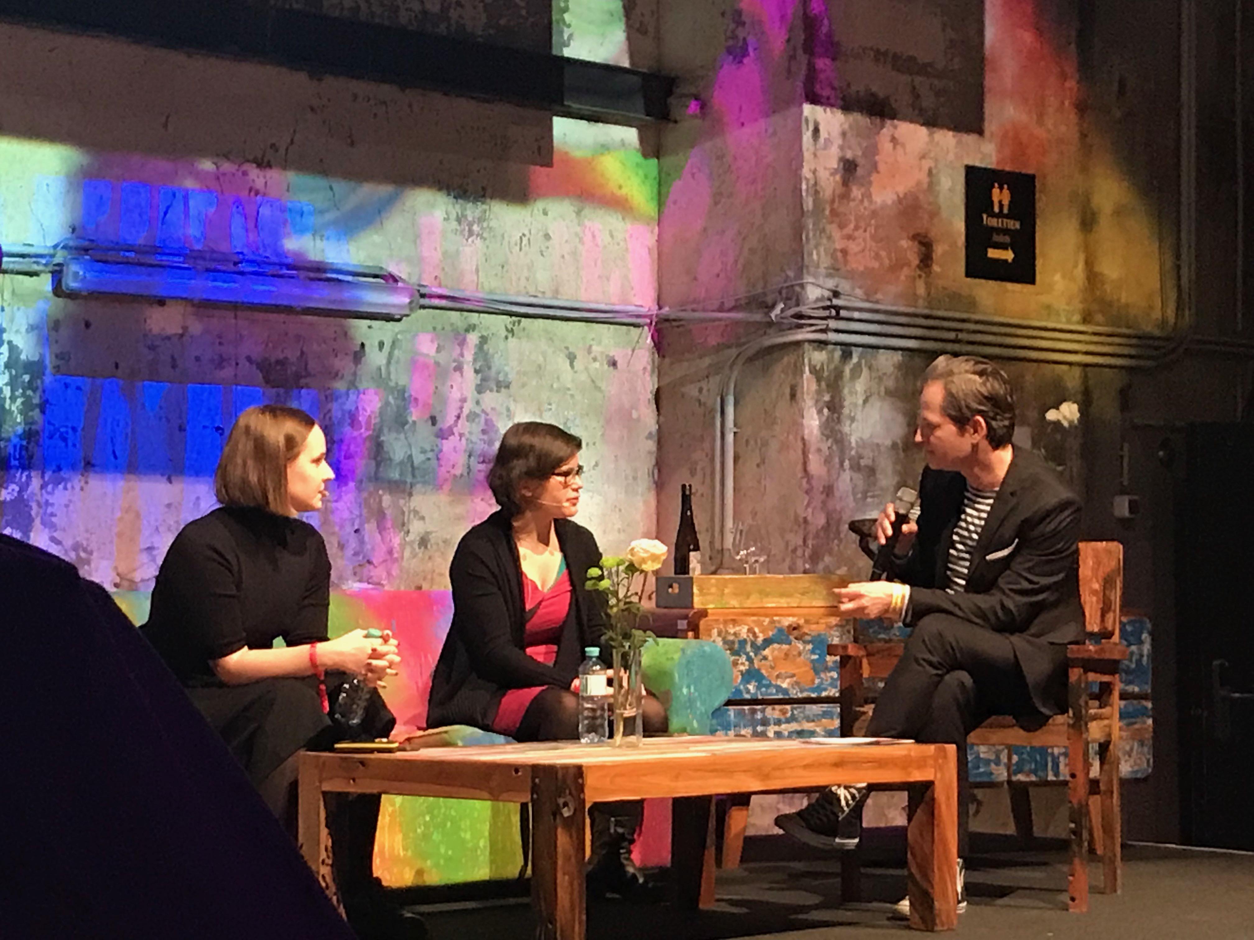 maxima COMEPASS Blogger Festiival Verena Bogner und Ingrid Brodnig