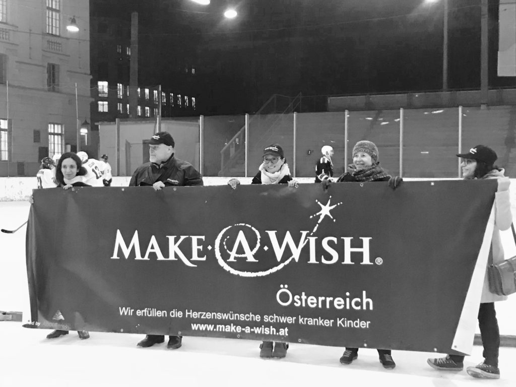 Eishockeymatch Promis Make-A-Wish Foundation