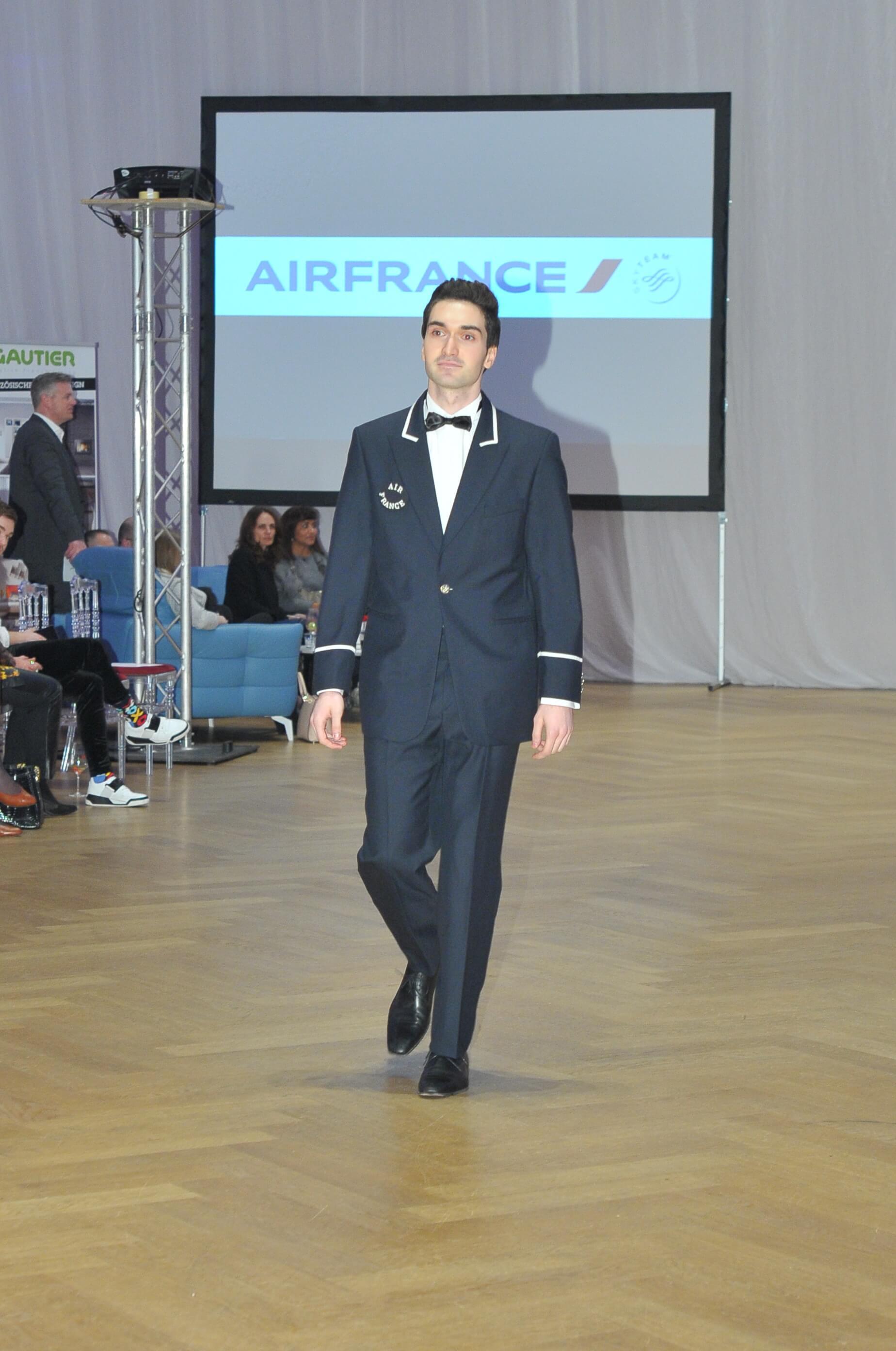 Air France Uniformen French Fashion Week Vienna 2018 Philipp Hutter