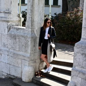 Casual Outfit mit Pencil Skirt