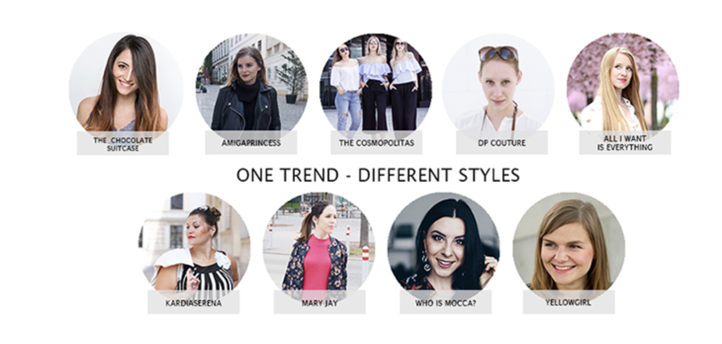 One Trend - Different Styles Image