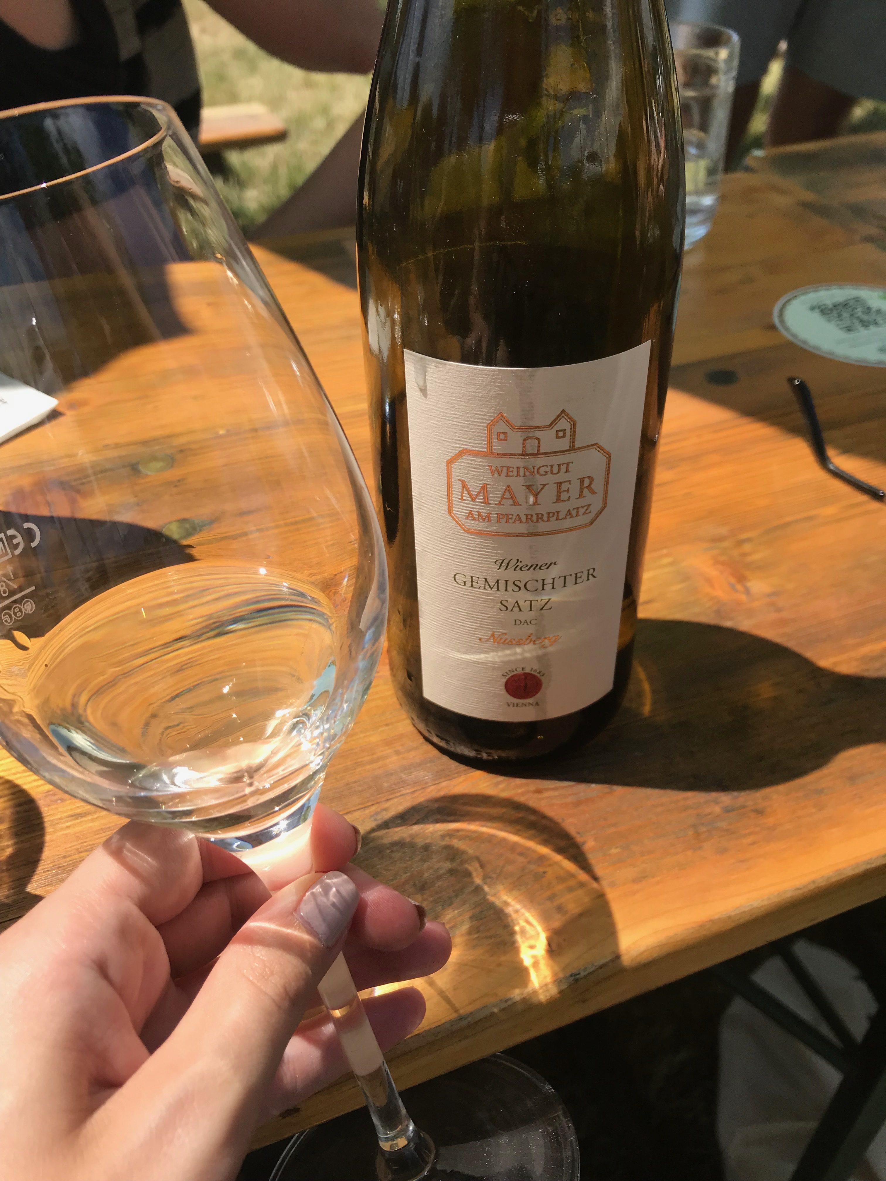 Weinverkostung Mayer am Nussberg