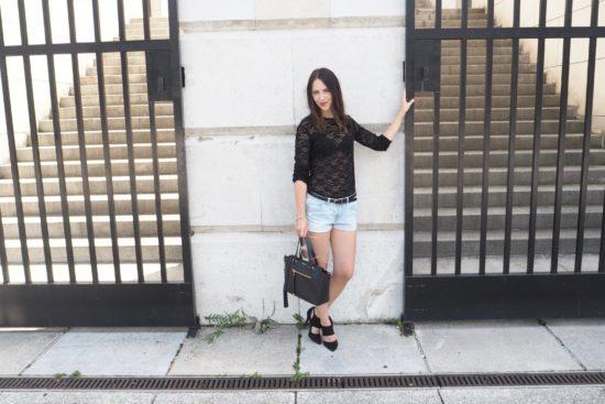 Modetrend Transparenz wie tragen?