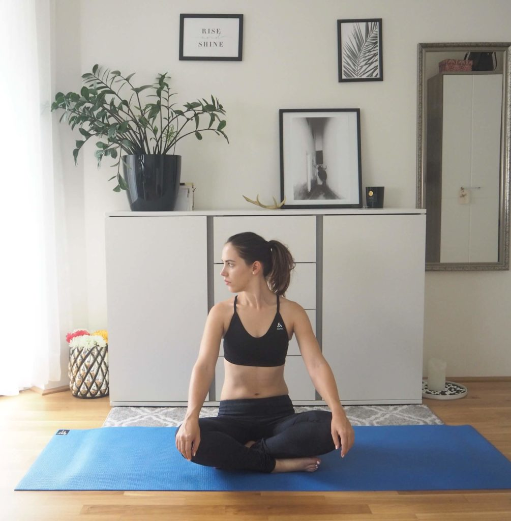 Yoga Nacken entspannen