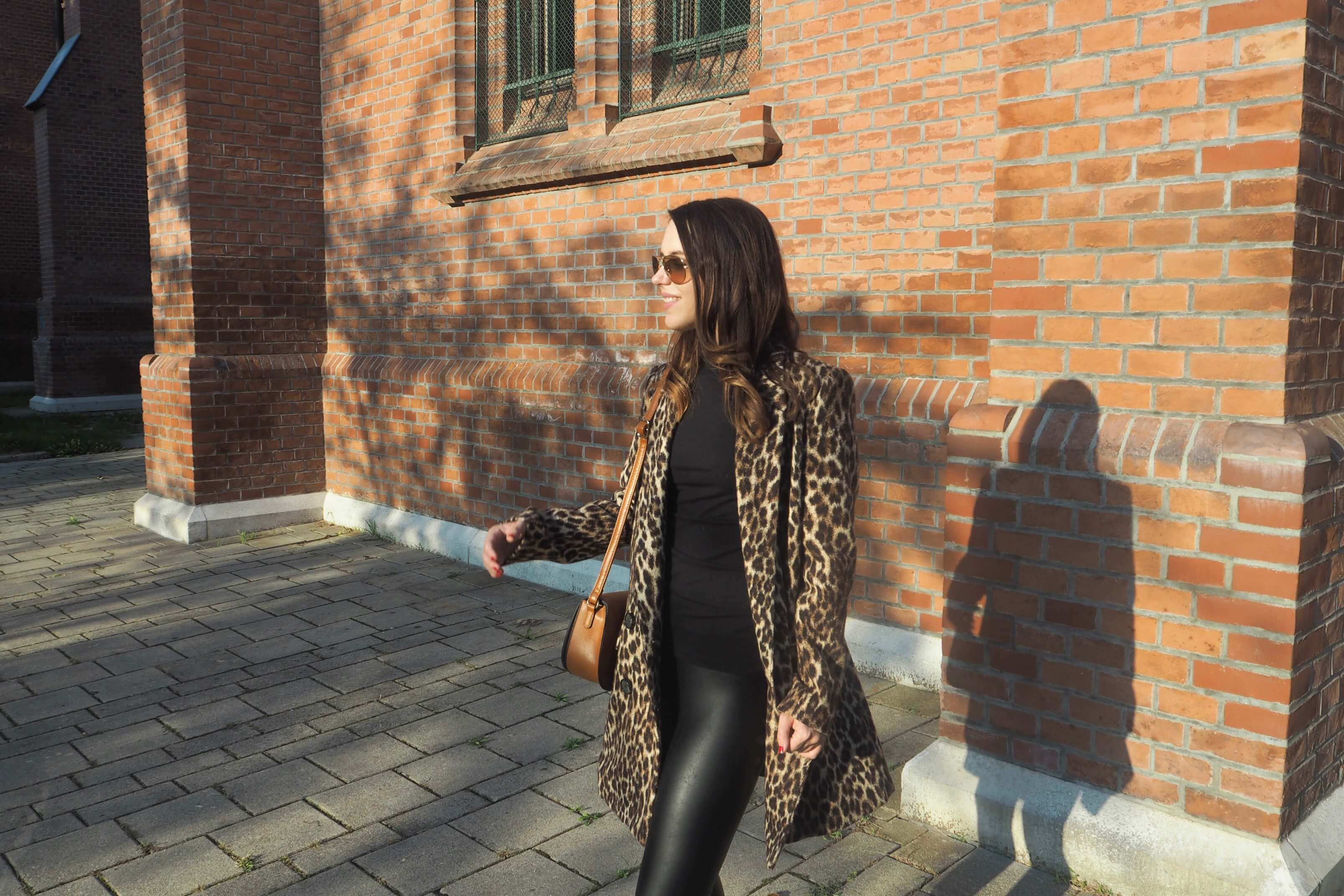 Leoprint Coat Zara